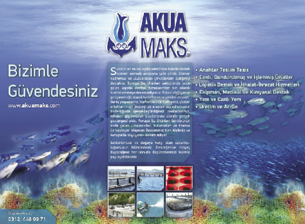 Akuamaks Gazete Reklamı Tasarımı