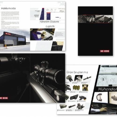 3e Eos Katalog Tasarımı