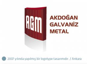 Akdoğan Galvaniz logo tasarımı