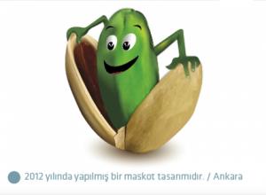 Alper Tunga Kuruyemiş Maskot logo tasarımı