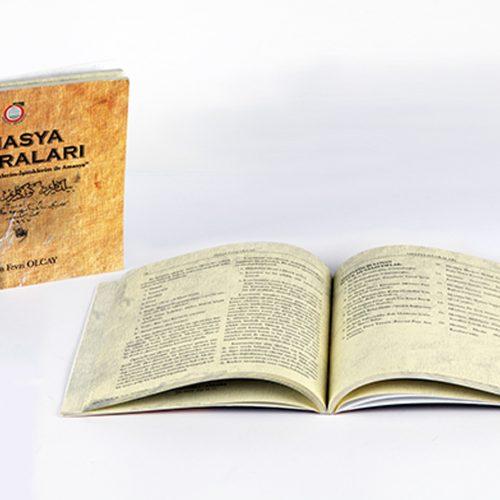 Amasya Hatıraları Kitap Tasarımı