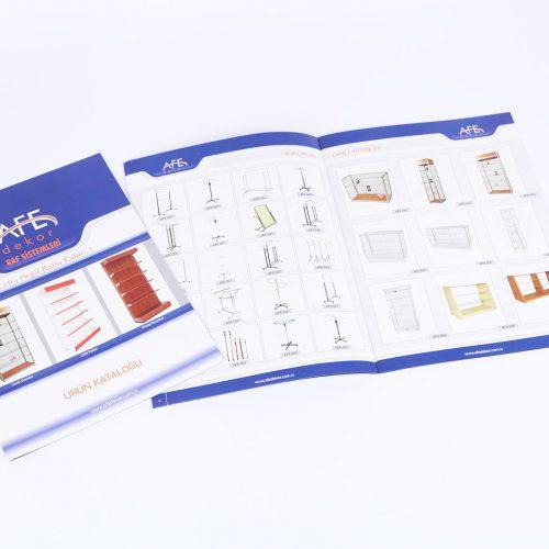 AFE dekor katalog tasarımı