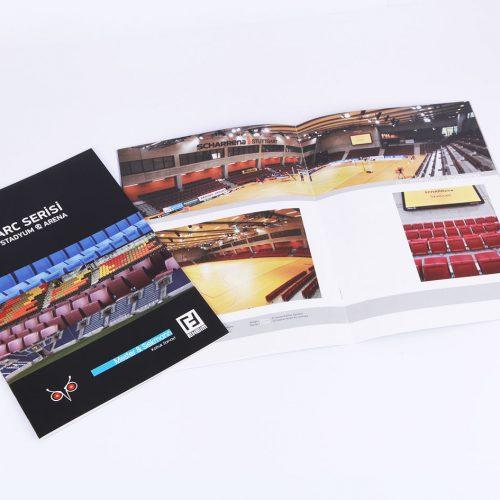 Arc Serisi katalog tasarımı
