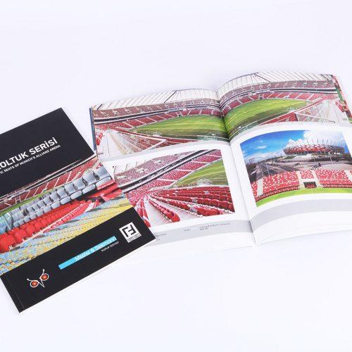FCB Koltuk Serisi katalog tasarımı