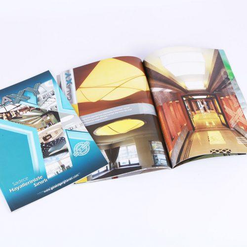 Galaxy gergi tavan katalog tasarımı