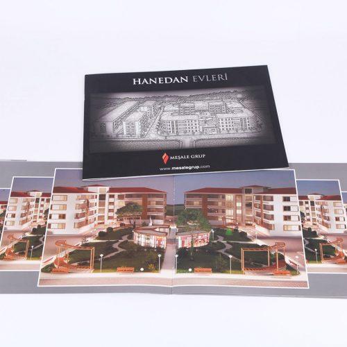 Hanedan evleri katalog tasarımı