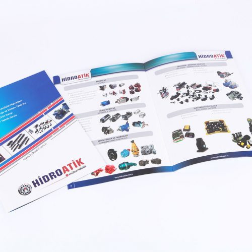 Hidro Atik mühendislik katalog tasarımı