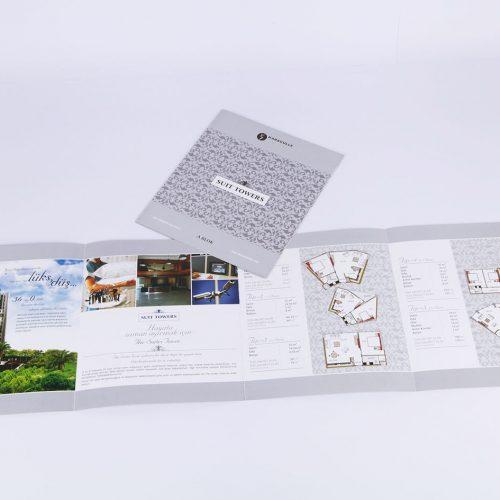 Karagülle yapı sutt towers katalog tasarımı