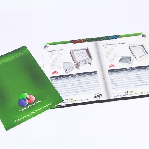 Modüled Elektronik katalog tasarımı