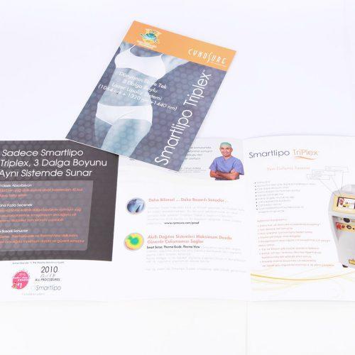 Smartlipo Triplex Katalog tasarımı