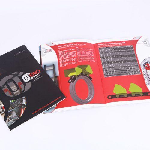 erd grup zincir katalog tasarımı