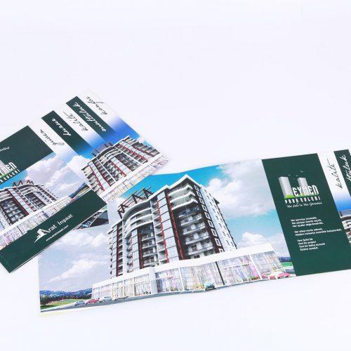 eymen park evleri katalog tasarımı