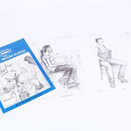 gürsoy resim kursu katalog tasarımı