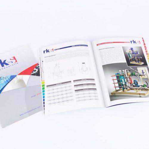 rks mühendislik katalog tasarımı
