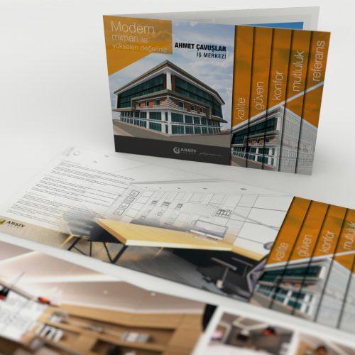 Arşiv İnşaat Katalog Tasarımı