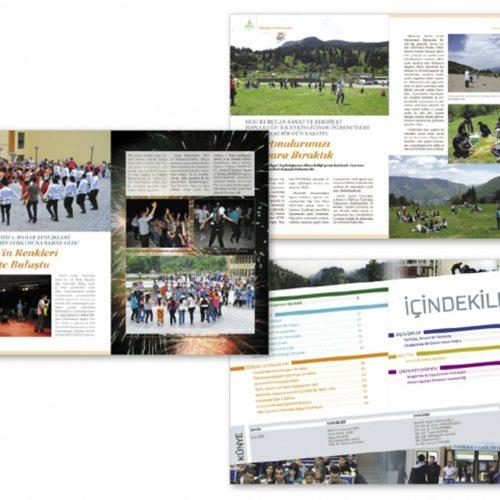 Artvin Çoruh Üniversitesi Dergi Tasarımı
