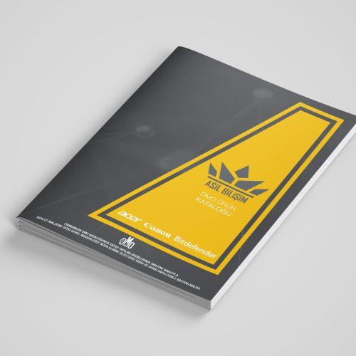 Asil Bilişim Katalog Tasarımı