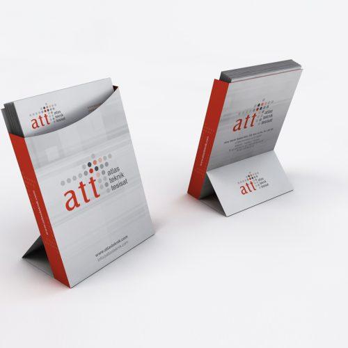 Atlas Teknik Tesisat Unutmayınız Kartı Tasarımı