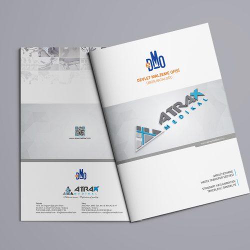 Atrax Medikal Katalog Tasarımı