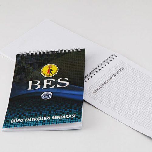 BES Bloknot tasarımı