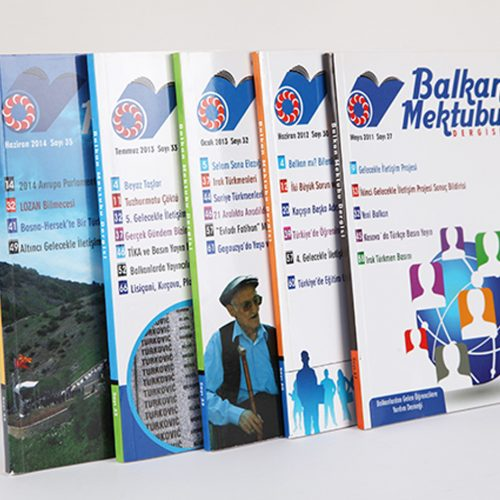 Balkan Mektubu Dergi Tasarımı