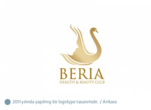 Beria Güzellik Salonu logo tasarımı
