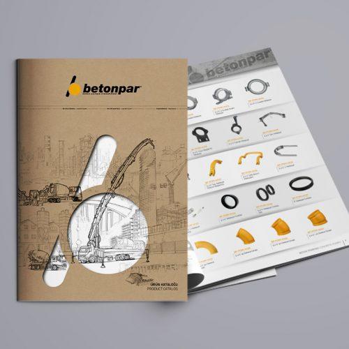 Betonpar Katalog Tasarımı