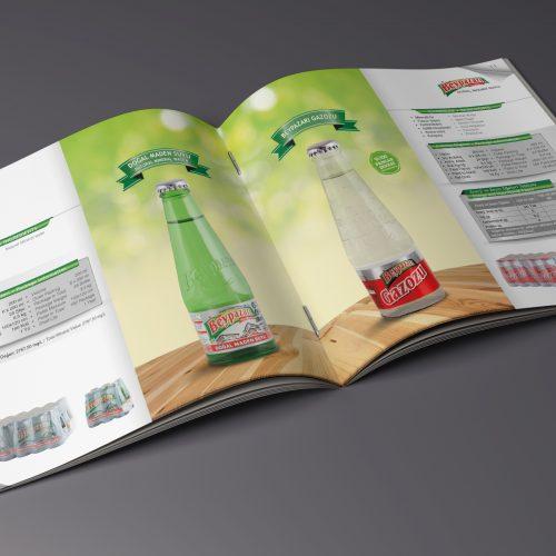Beypazarı Maden Suları Katalog Tasarımı