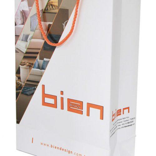 Bien Mobilya Karton Çanta tasarımı