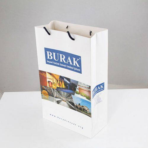 Burak İnşaat Karton Çanta tasarımı