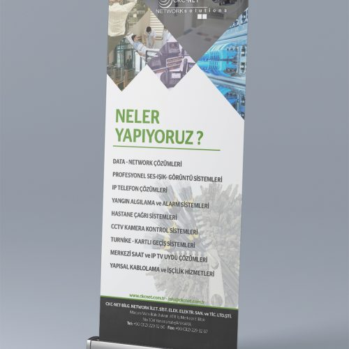 CKC Net Roll Up Banner Tasarımı