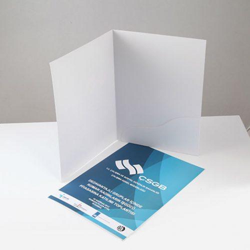Çalışma ve Sosyal Güvenlik Bakanlığı Cepli Dosya tasarımı