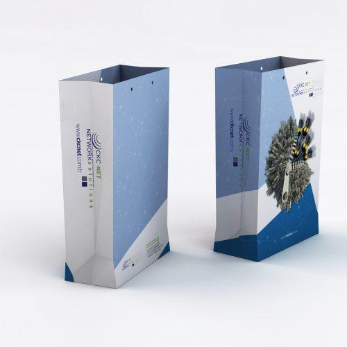 Ckc Network Karton Çanta Tasarımı