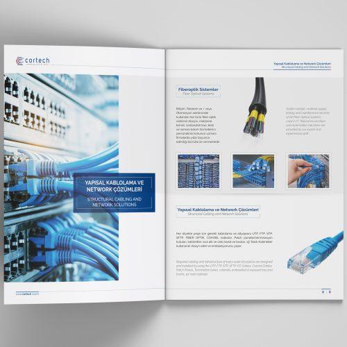 Cortech Katalog Tasarımı