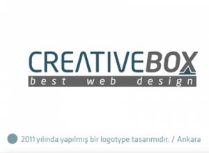 Creativebox logo tasarımı
