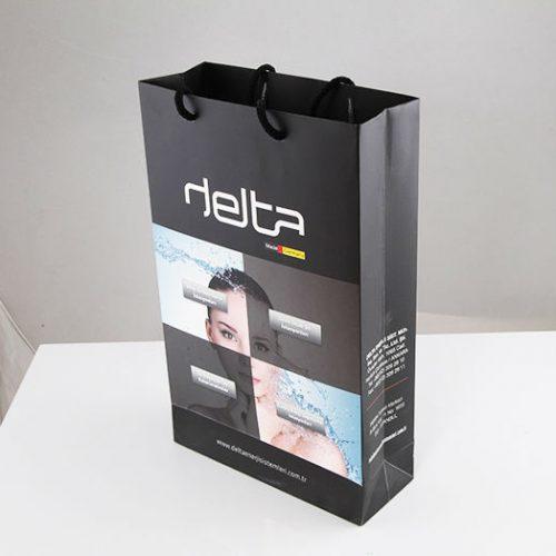 Delta Enerji Karton Çanta tasarımı