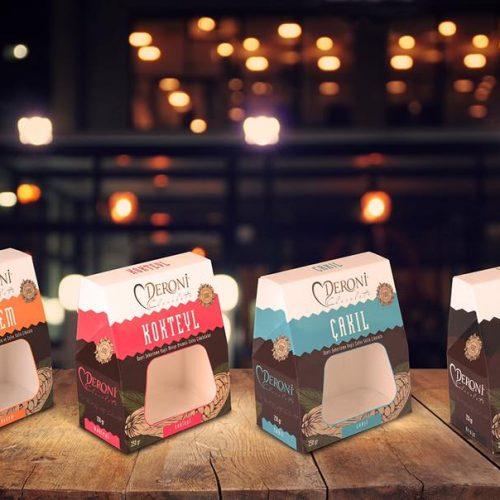 Deroni Çikolata Draje Kutusu Ambalaj Tasarımı