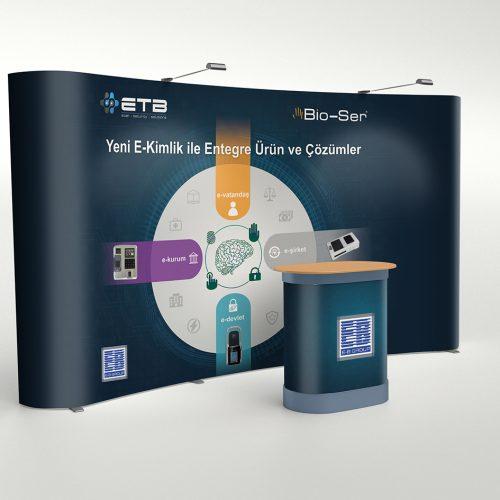 EB Group Örümcek Stand Tasarımı