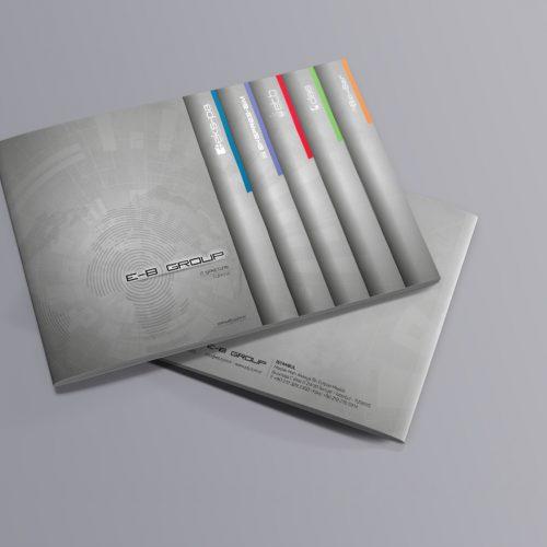 EB Grup Katalog Tasarımı