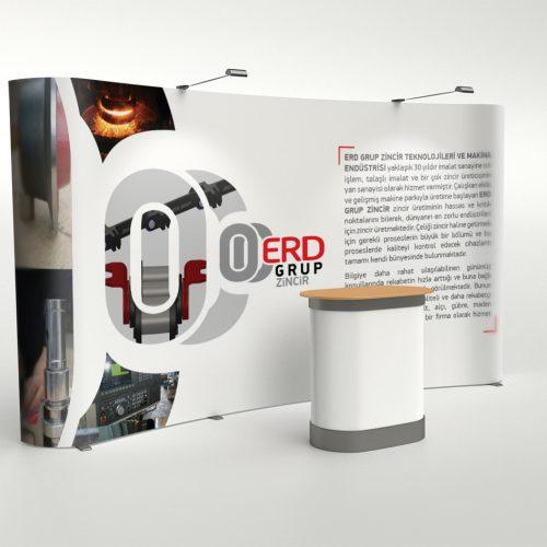 ERD Grup Zincir Örümcek Stand Tasarımı