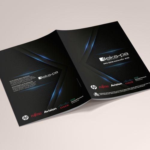 Ekspa Bilgisayar DMO Ürün Kataloğu Tasarımı