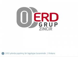 Erd Grup Zincir logo tasarımı