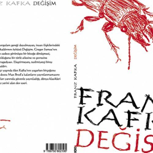 Franz Kafka Değişim Kitap Kapağı Tasarımı