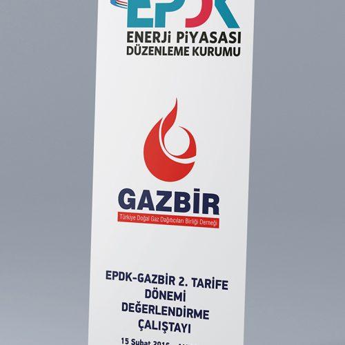 Gazbir Roll Up Banner Tasarımı