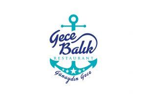 Gece Balık Restaurant Logo Tasarımı