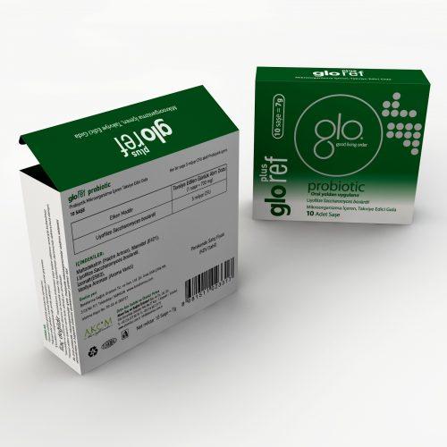 Gloref Plus Ürün Kutusu Tasarımı