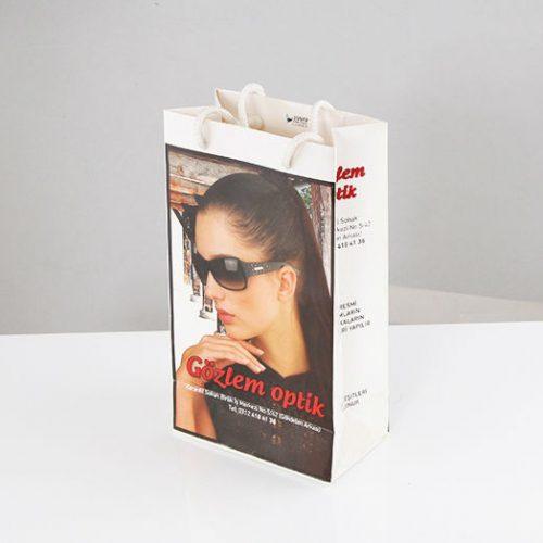 Gözlem Optik Karton Çanta tasarımı