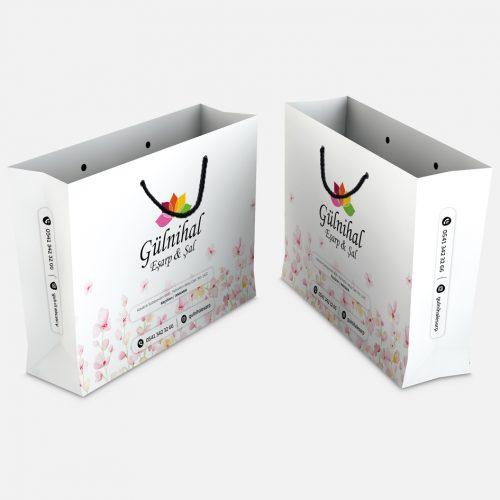Gülnihal Eşarp Karton Çanta Tasarımı