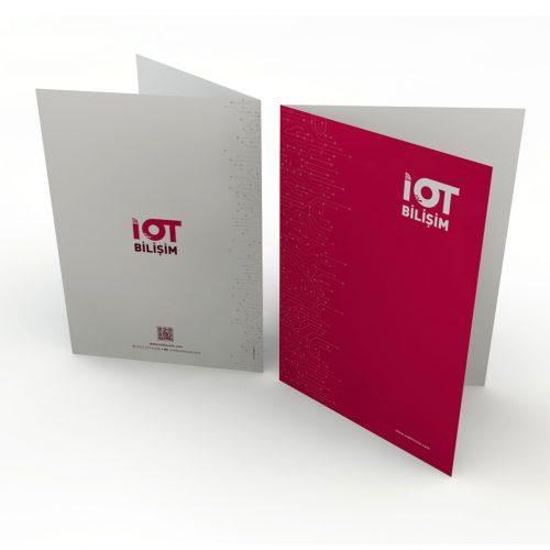 IOT Bilişim Cepli Dosya Tasarımı