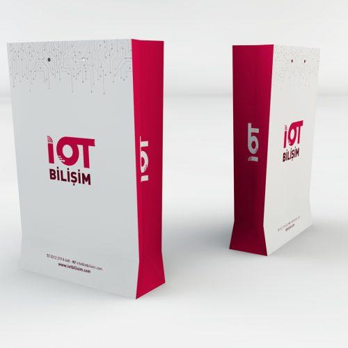 IOT Bilişim Karton Çanta Tasarımı